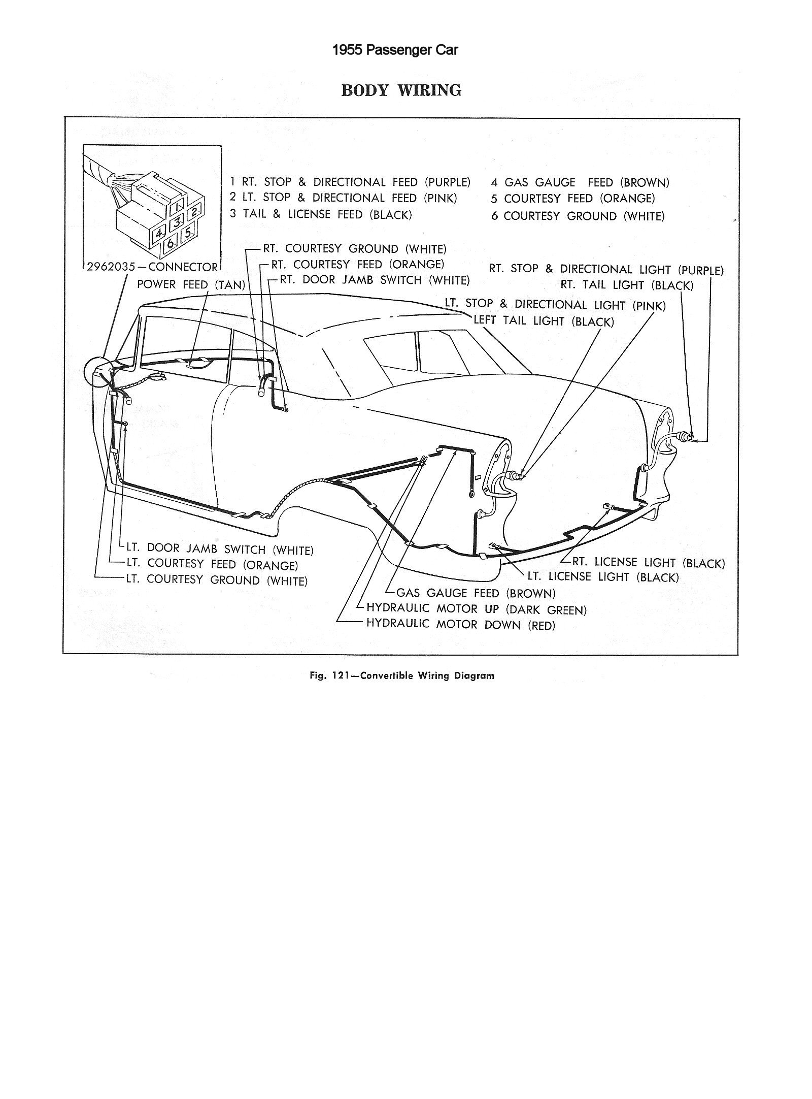 hight resolution of 1955 car body wiring 1955 passenger car body wiring