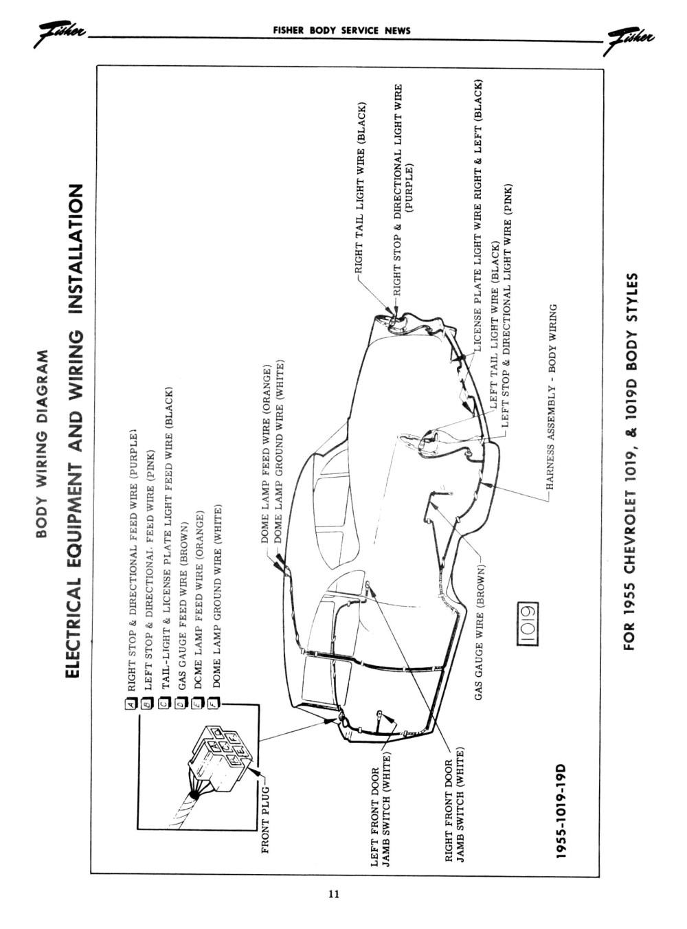 medium resolution of 1955 body wiring diagram 2