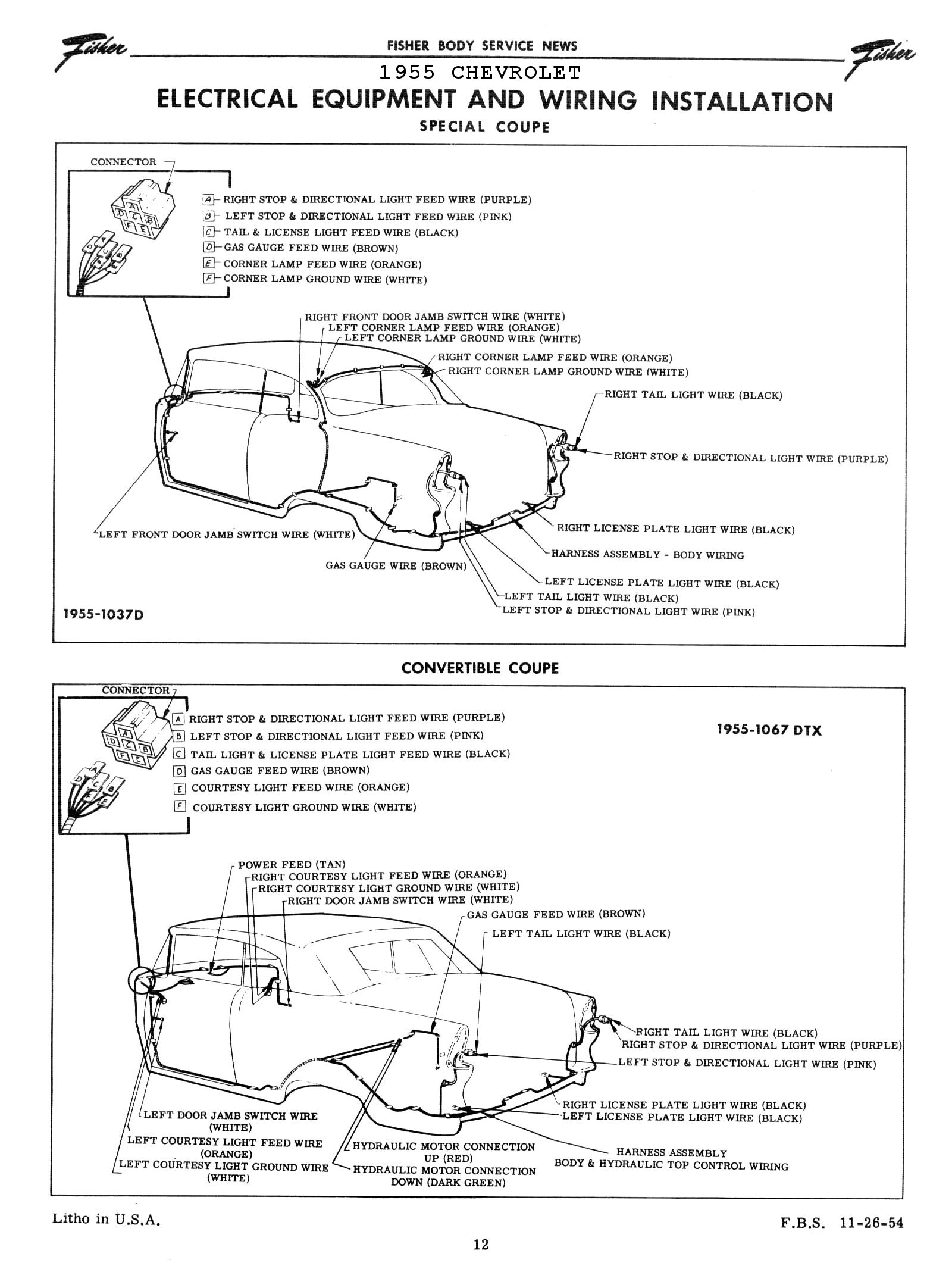 hight resolution of  1955 body wiring diagram 3