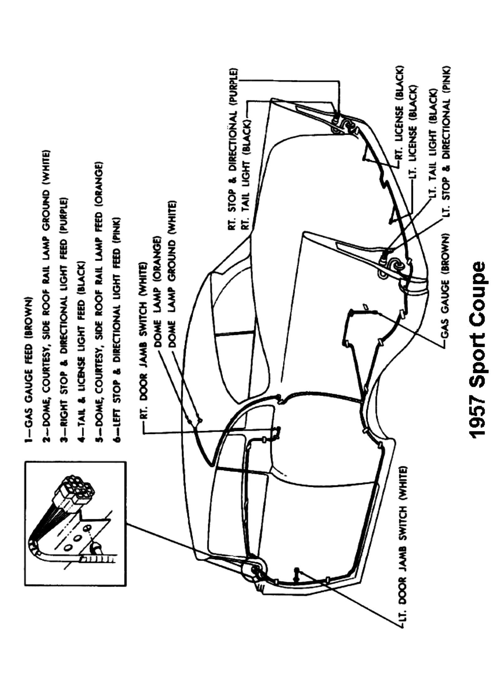 1955 chevy overdrive wiring harness