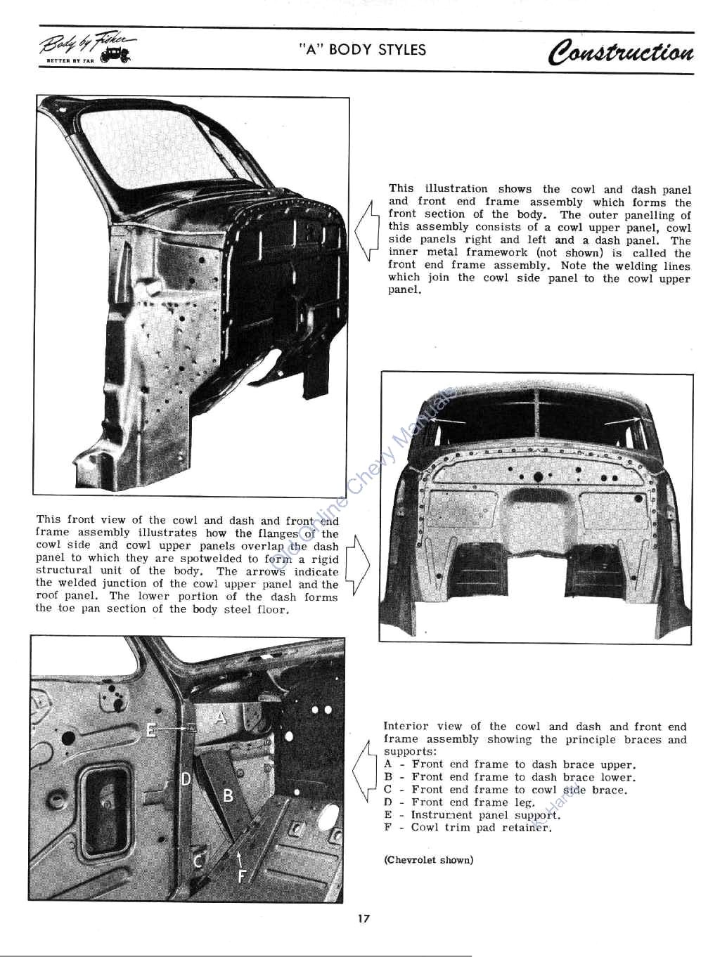 1946 & 1947 FISHER Body Manual
