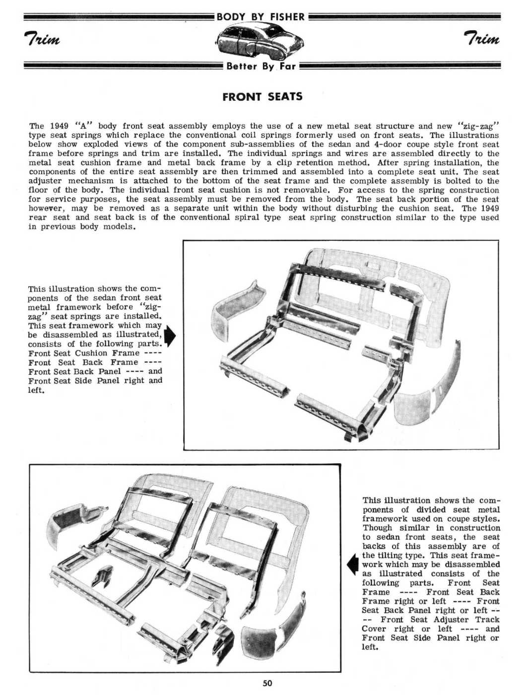 1949 FISHER Body & Construction Manual