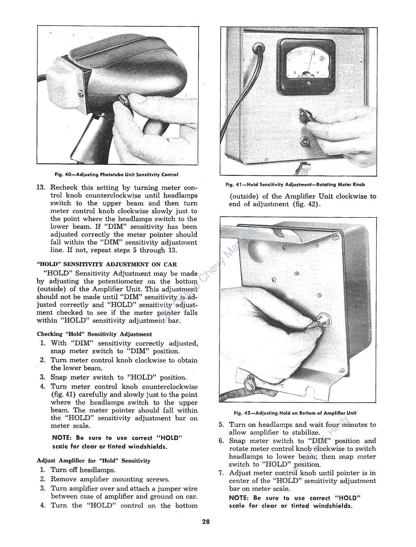 1953 Chevrolet Power Steering and Autotronic Eye Repair