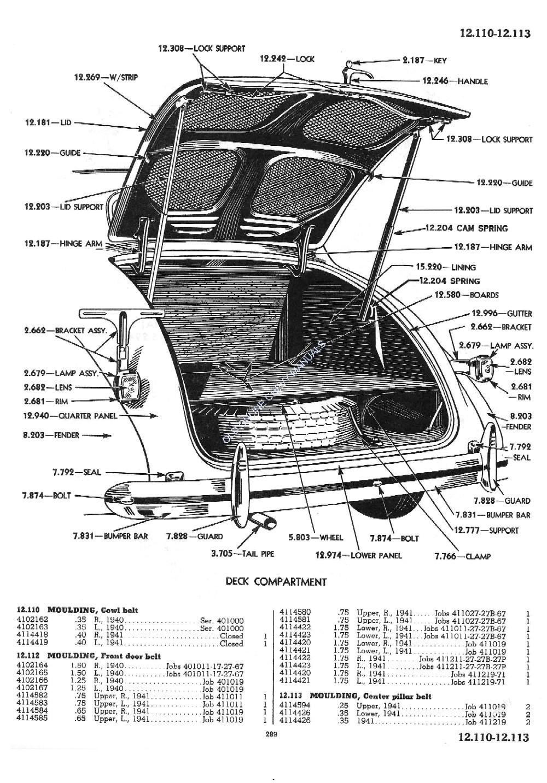 1929-41 Chevrolet Master Parts