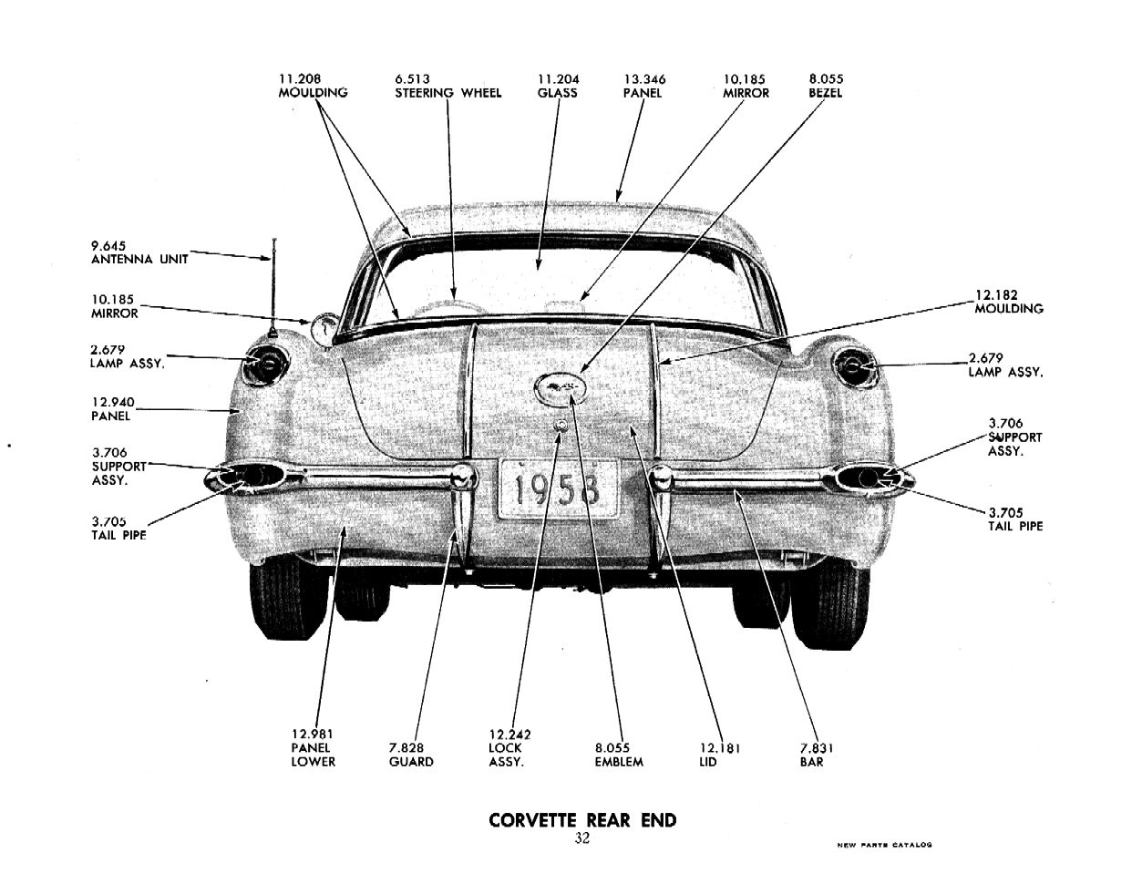 1958 Chevrolet Parts and Accessories