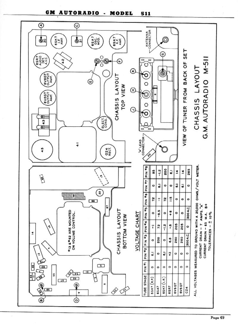 1951 GM Radio Service Manual