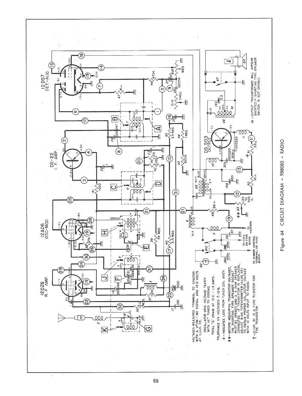 1960 Chevrolet Radio Service and Shop Manual