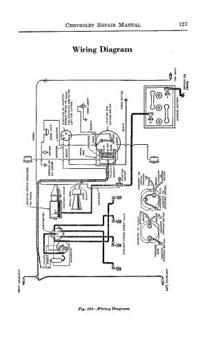 1925 Chevrolet Repair Manual  Superior Model Series K