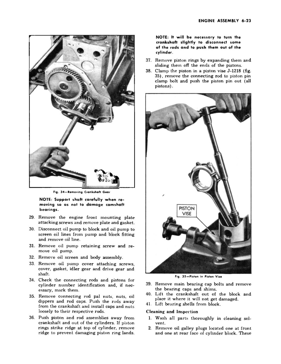 1949 Chevrolet Passenger Car Repair Manual including 1950