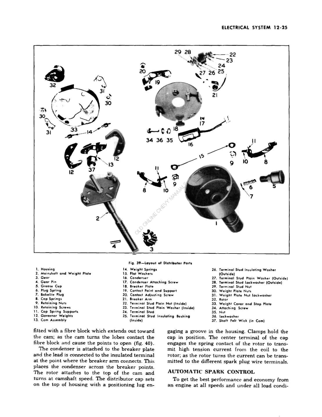 1949 Chevrolet Passenger Car Repair Manual including 1950