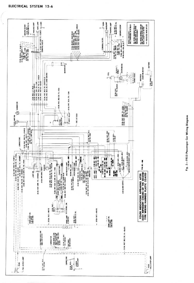 51 Chevy Styleline Deluxe Wiring Diagram 51 Chevy
