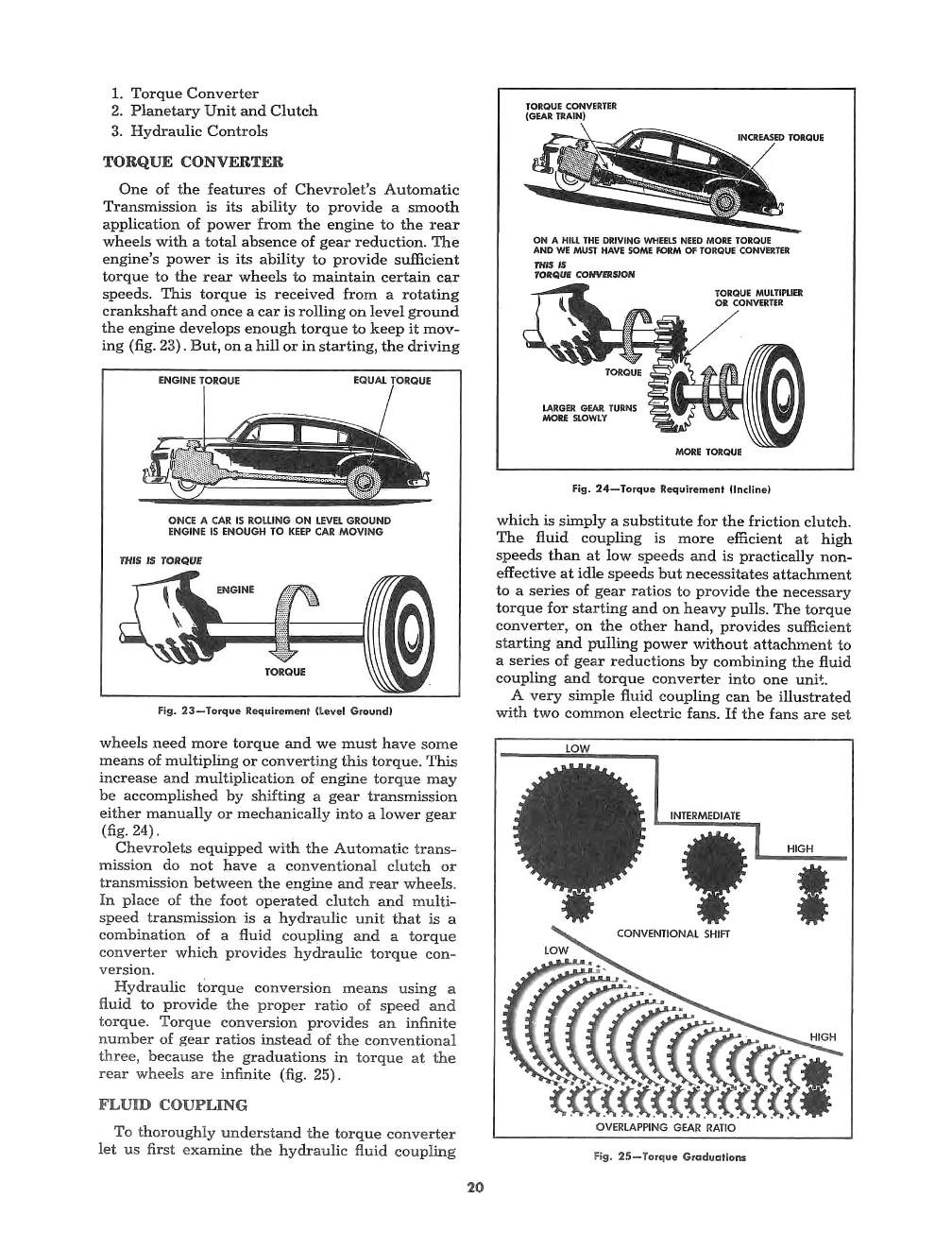 1950 CHEVROLET PASSENGER CAR MAINTENANCE MANUAL