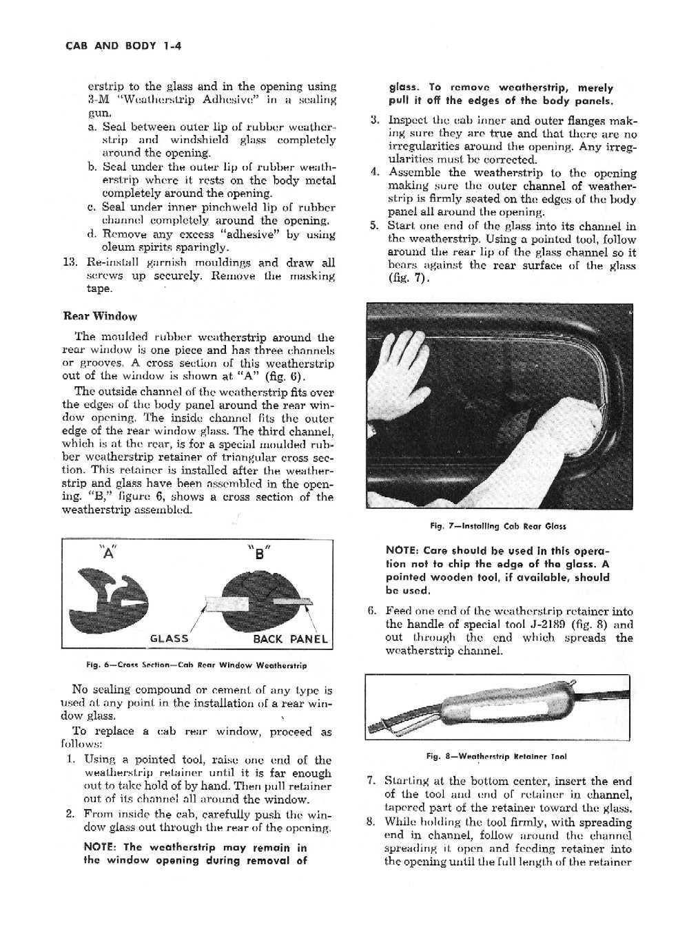 1954 Chevrolet Truck Shop Manual