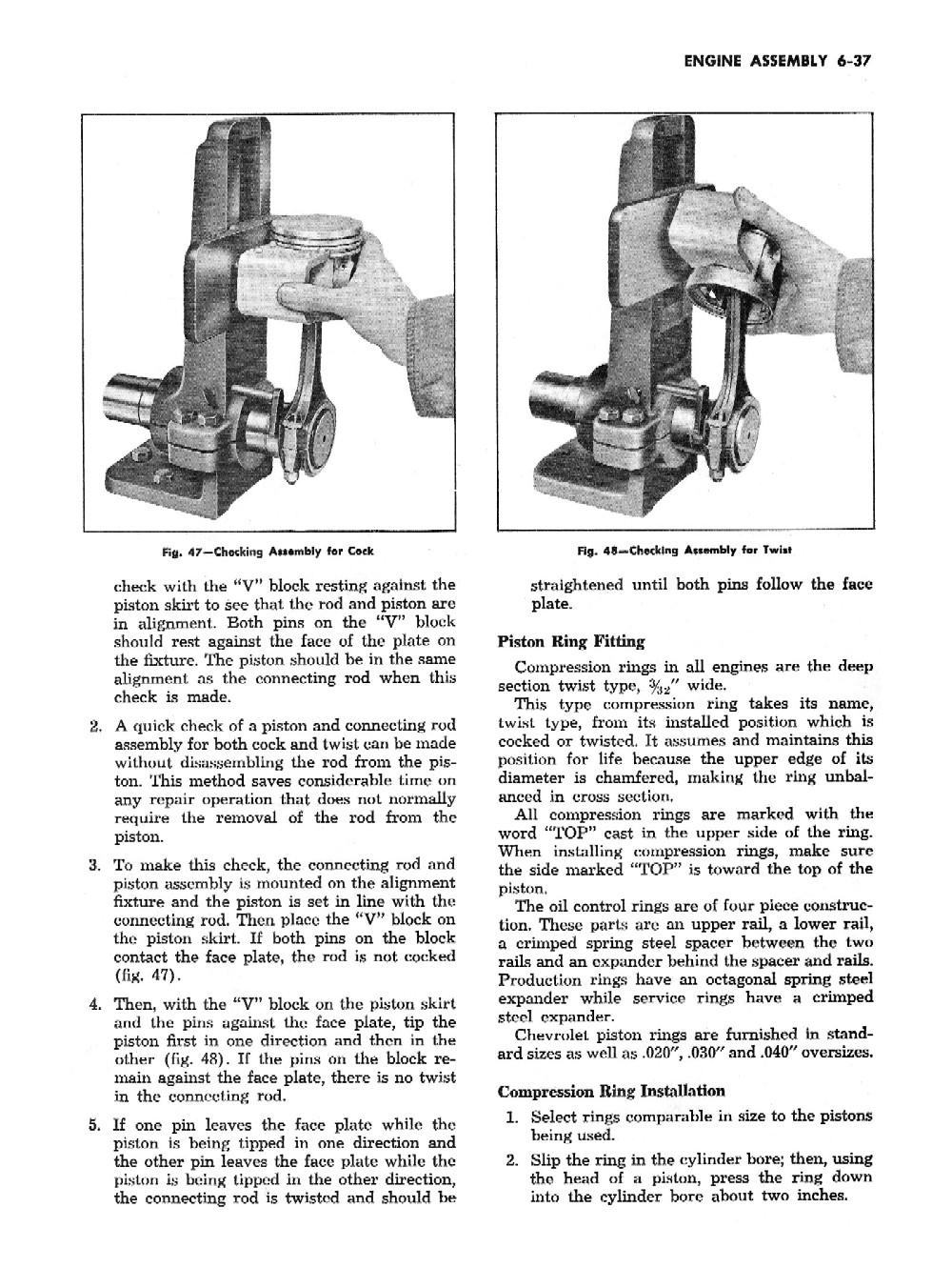 1955 Chevrolet Passenger Car Shop Manual