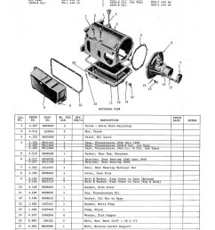 1946 1950 hydra matic transmission parts requisition for oldsmobile models [ 1007 x 1303 Pixel ]