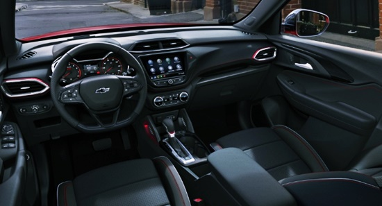 New 2021 Chevy Trailblazer Interior