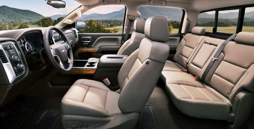 2021 Chevy Avalanche Interior