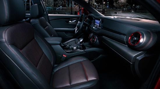 2021 Chevy Blazer SS Interior