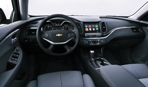 2021 Chevy Impala SS Interior