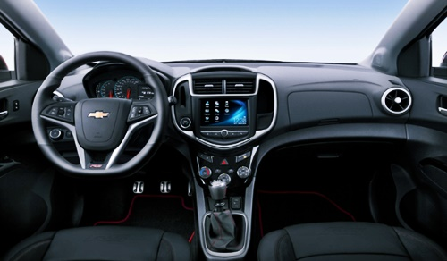 2021 Chevy Sonic Interior