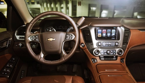 2021 Chevy Tahoe Interior