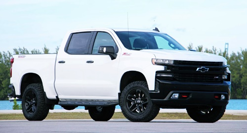 2020 Chevy Silverado Trail Boss Towing Capacity