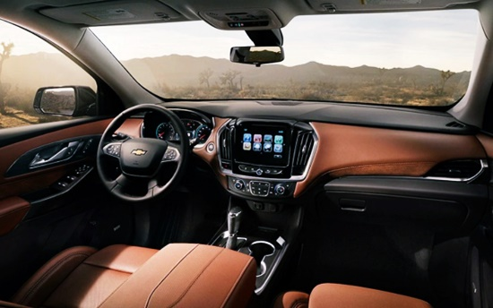 2021 Chevrolet Traverse Redline Edition Interior