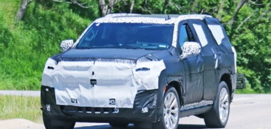 New 2021 Chevy Tahoe USA Exterior