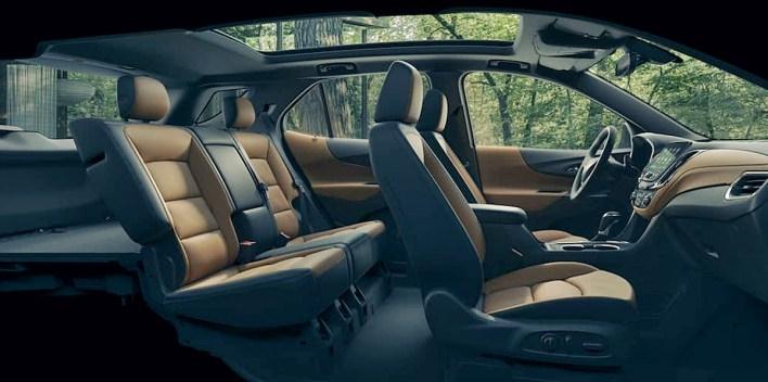 2022 Chevy Equinox Midnight Edition Interior