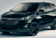 New 2022 Chevy Equinox Midnight Edition