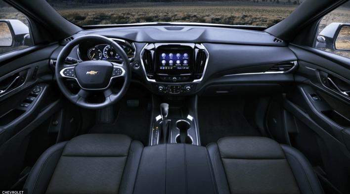 2023 Chevy Traverse Interior