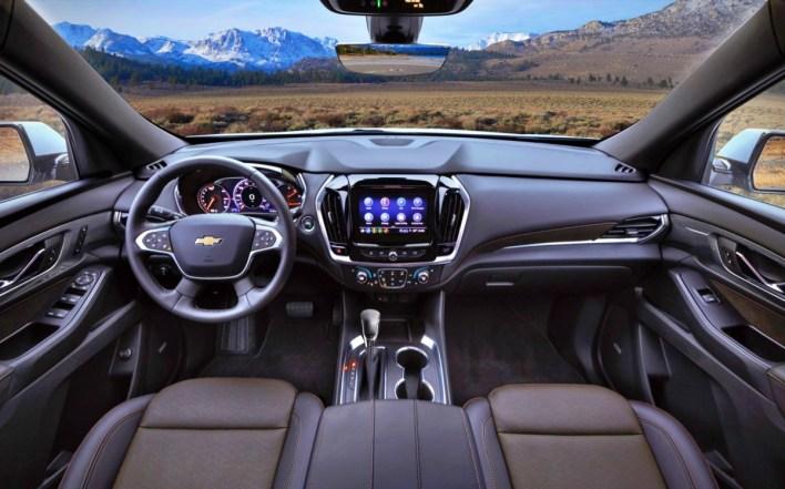 2022 Chevy Traverse Midnight Edition Interior