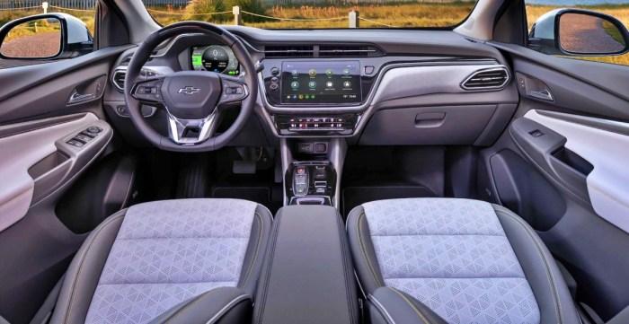 2023 Chevy Bolt EUV Interior