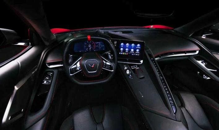 2023 Chevy Corvette Z06 Interior