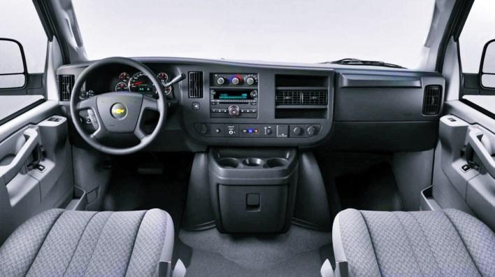 2023 Chevy Express Interior