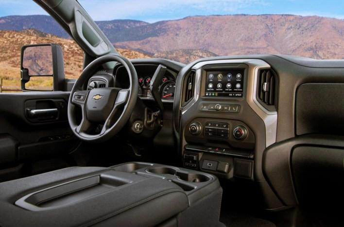 2024 Chevy Silverado HD Interior