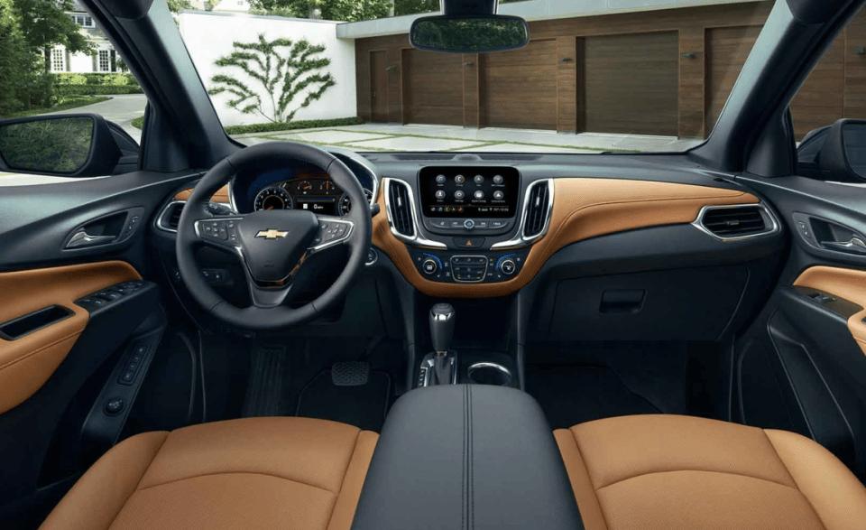 2022 Chevrolet Equinox Lt W-2fl Interior