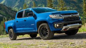 2022 Chevy Colorado Pickup Models