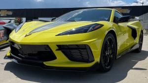 2022 Chevy Corvette Visualizer Engine
