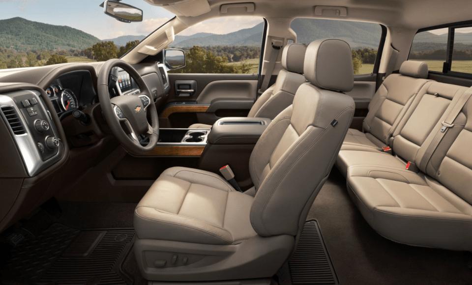 2022 Chevy 3500 Duramax Dually Interior