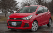 2022 Chevy Spark Manual Transmission Review