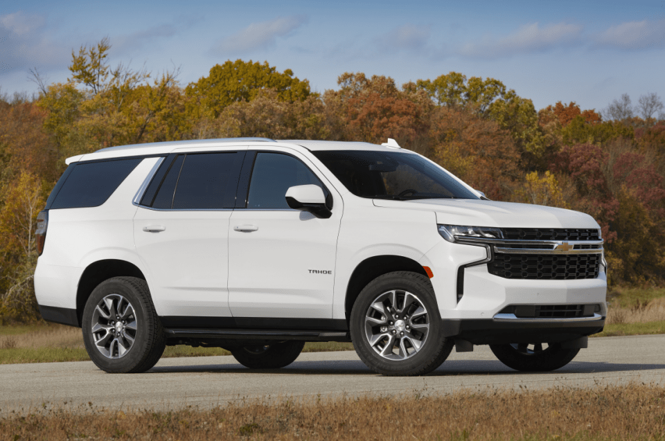 2022 Chevy Tahoe At4 Release Date