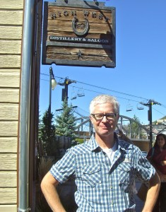 David Perkins, owner of High West Distillery in Park City. Photo by Valerie Phillips