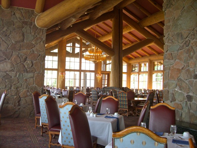 The Needles Lodge at Snowbasin offers a view from 8,700 feet.