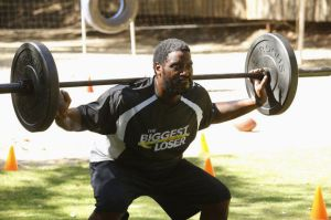 """Damien Woody, contestant on """"The BIggest Loser."""""""