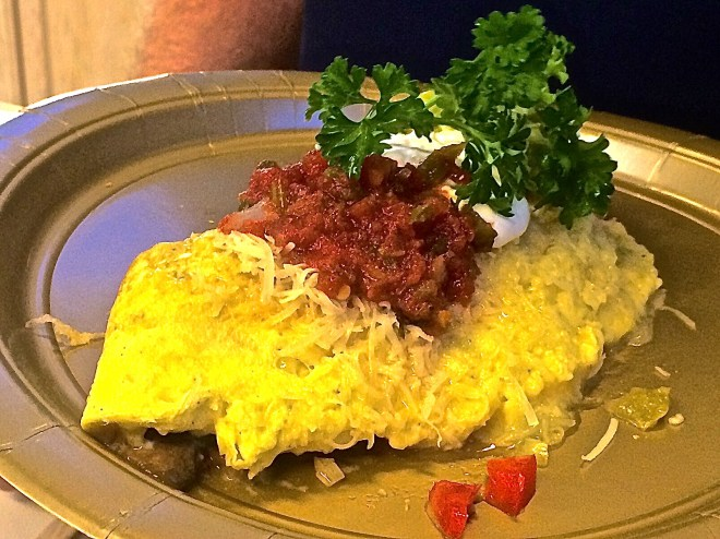 """Dan Waters' """"Best Tasting"""" omelet."""