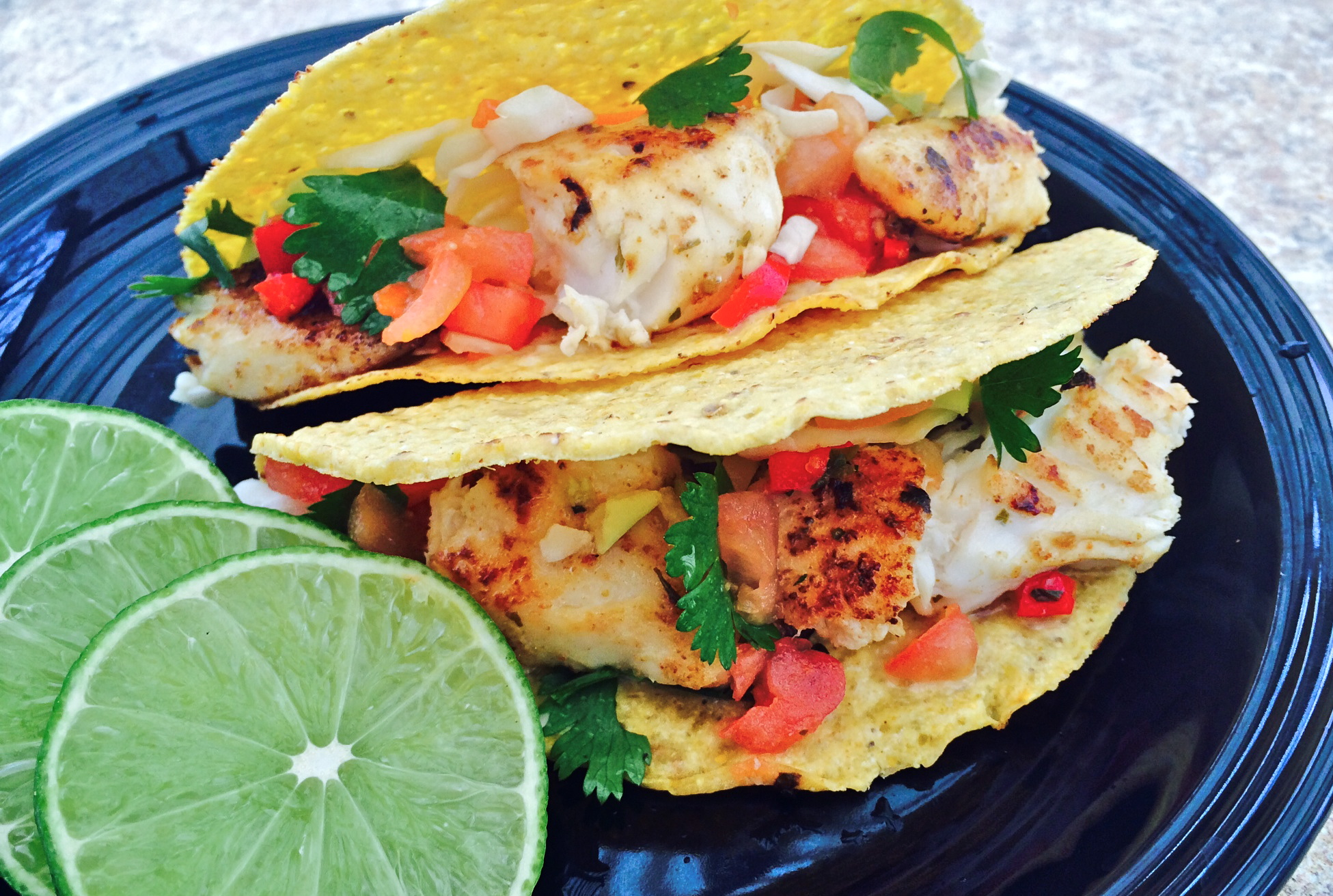 Easy fish tacos for Fish taco recipie