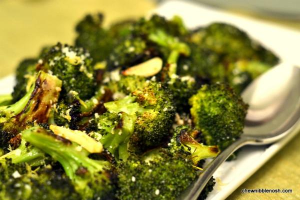 Ina Garten Broccoli roasted broccoli with lemon & garlic – chew nibble nosh