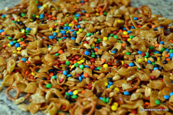 Sweet and Salty Snack Mix 3 - Chew Nibble Nosh