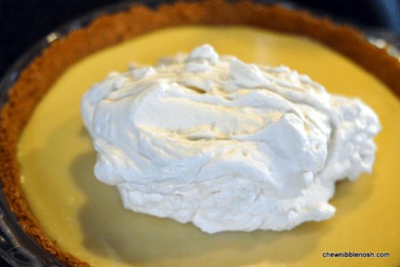 Lemon Icebox Pie 4 - Chew Nibble Nosh